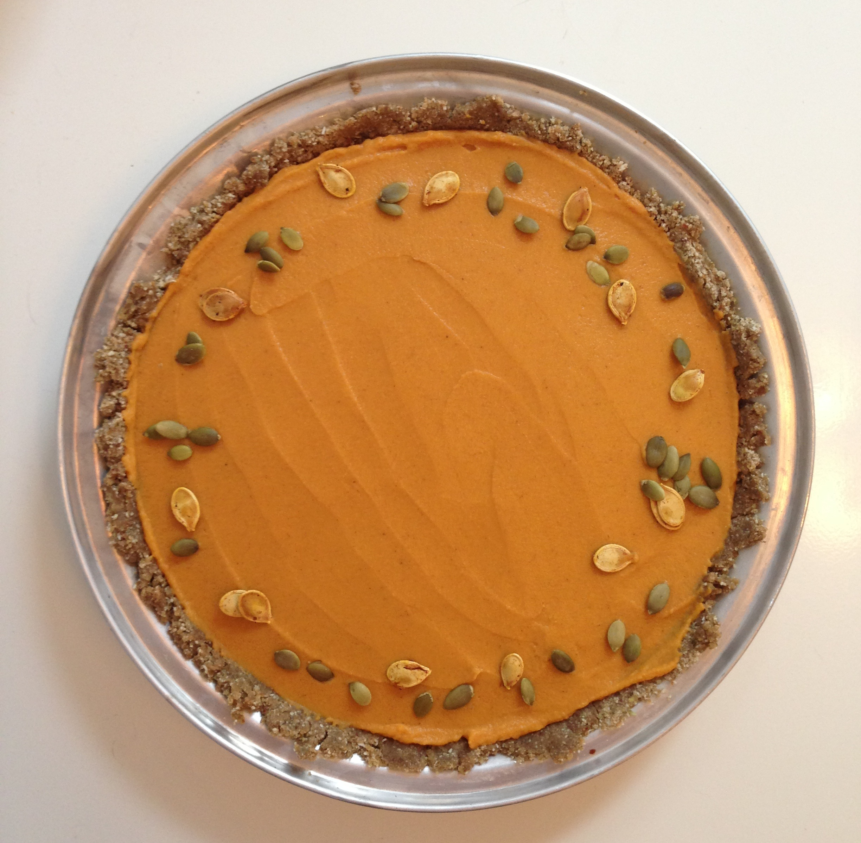 ... Toronto Nutrition » Gluten-Free, Grain-Free, Vegan Pumpkin Pie