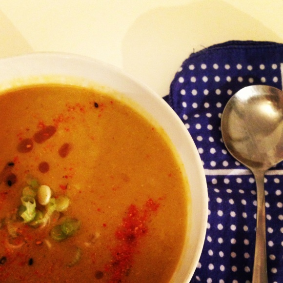 warming and immune boosting soup