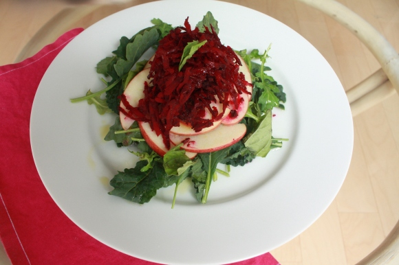 beet apple salad spring
