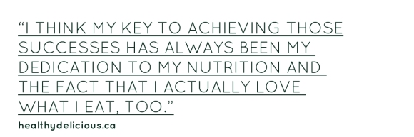 Chris - Nutrition Quote
